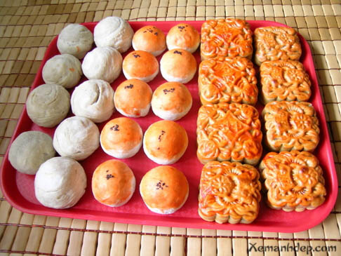 Moon cake photos