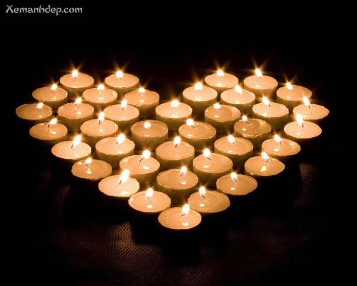 Beautiful candle light photos