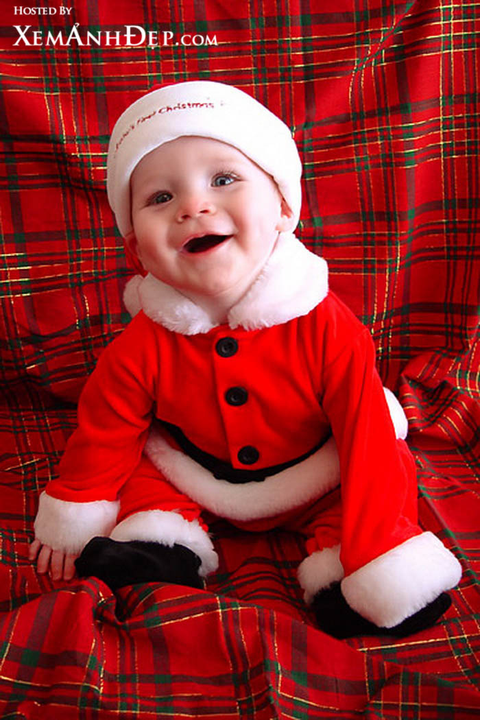 christmas-baby pictures