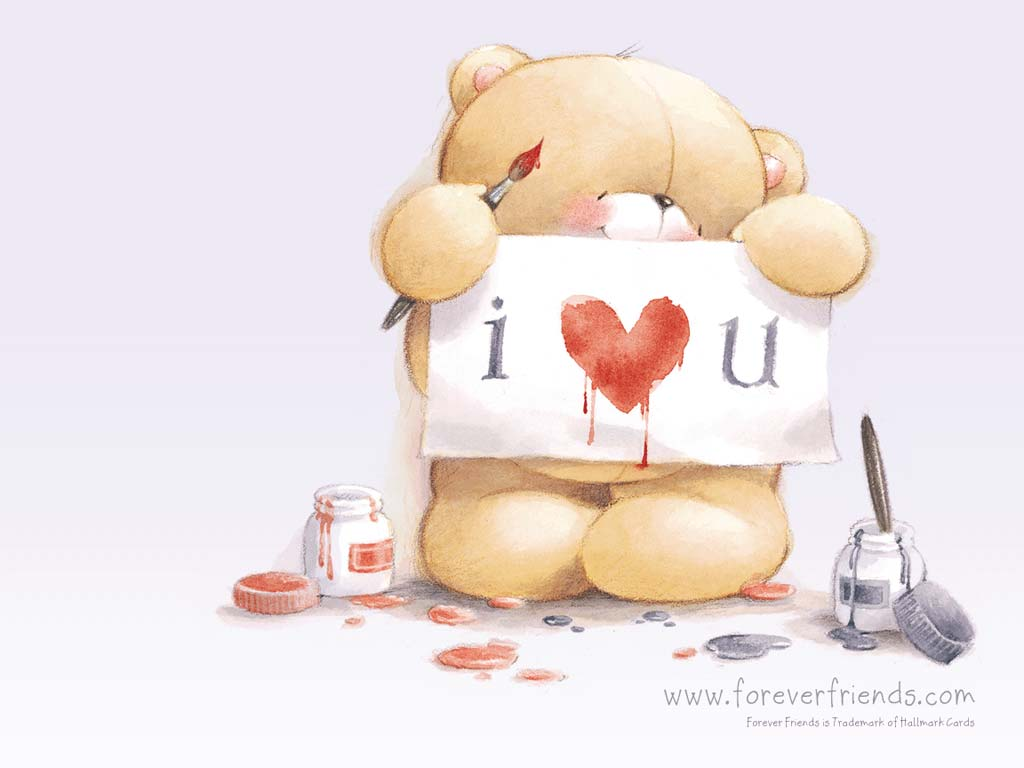 Love Forever cartoon Wallpaper : 16 cute Bear Wallpaper Xemanhdep Photos-Awesome Pictures Gallery