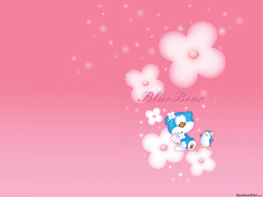 Cute bear wallpaper