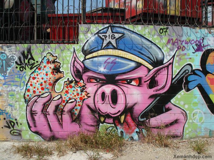 graffitis 3d y wild style