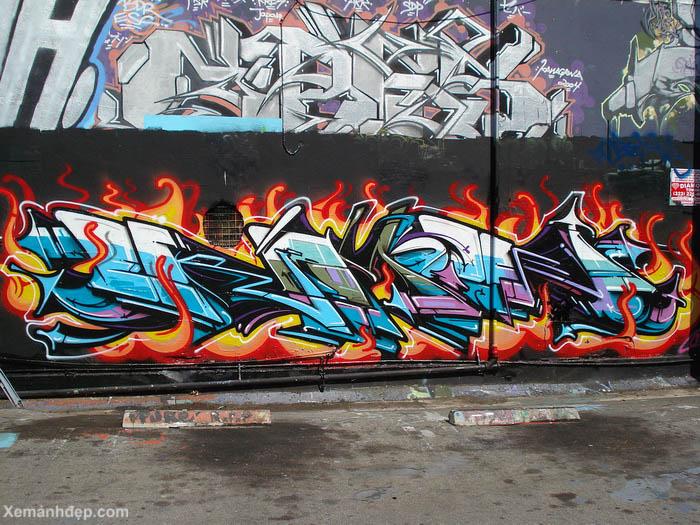 graffitis wild style