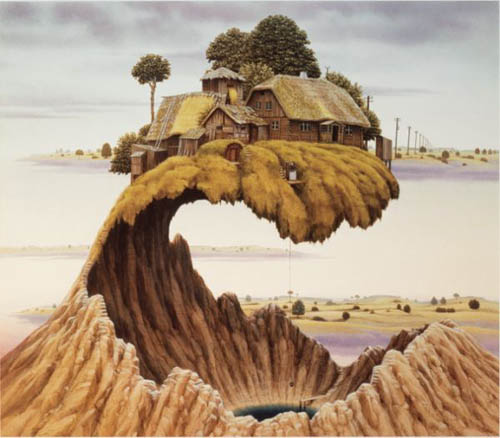 Fantastic photos of Jacek Yerka - Art photos