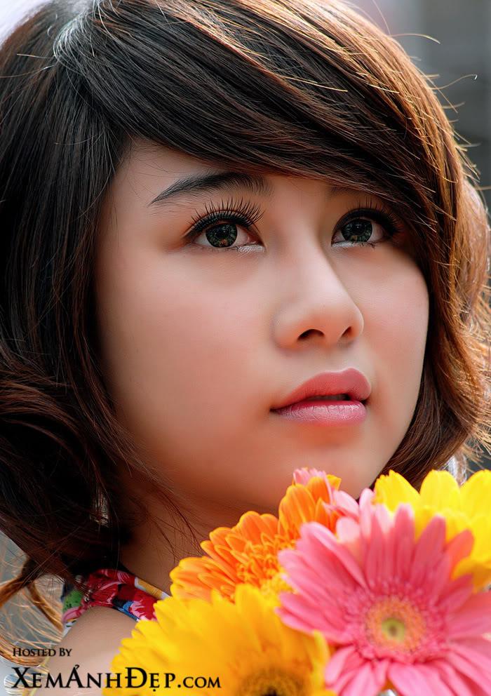 Girl xinh mắt đẹp