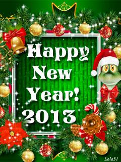 Hình nền năm mới 2013