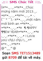 Tải tin nhắn chúc mừng năm mới