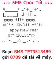 Tin nhắn chúc tết dễ thương