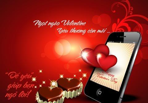 Tin nhắn tình yêu Valentine