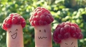Ảnh sáng tạo Hình vẽ ngón tay dễ thương