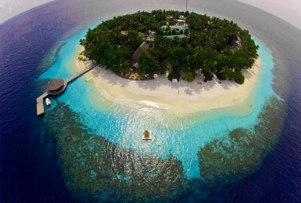 Anh dep thien duong Maldives