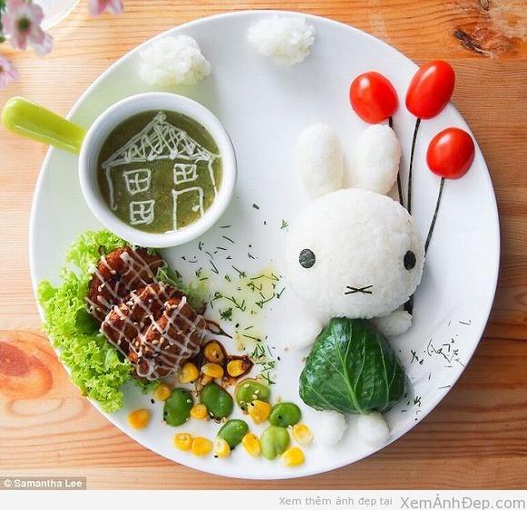 Ảnh đồ ăn đẹp đáng yêu