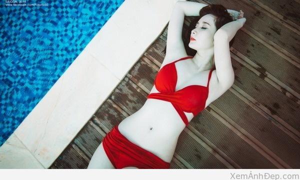 Anh girl xinh bikini 09