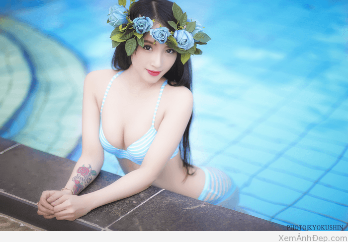 Hinh nguoi dep bikini